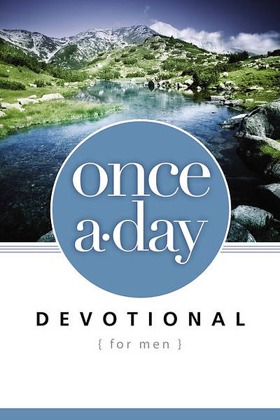 Picture of Once-A-Day Devotional for Men
