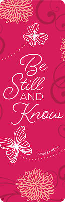 Picture of Be Still and Know (Bookmark)