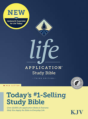 Picture of KJV Life Application Study Bible, Third Edition (Red Letter, Hardcover, Indexed)