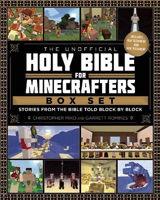 Picture of The Unofficial Holy Bible for Minecrafters Box Set