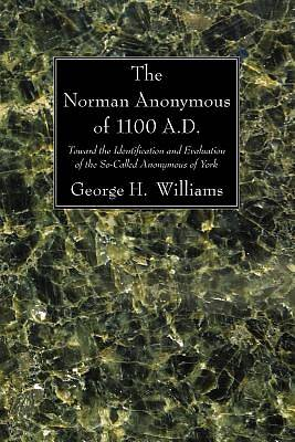 The Norman Anonymous of 1100 A.D.the Norman Anonymous of 1100 A.D.