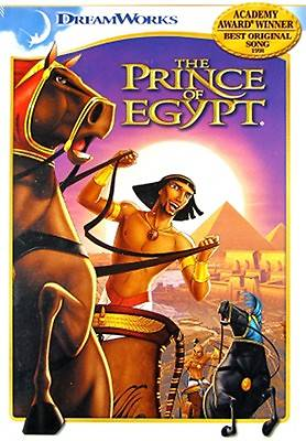 The Prince of Egypt DVD