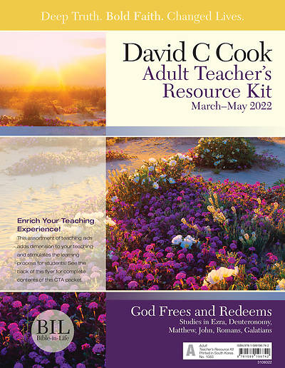 Bible in Life Adult Teacher Resource Kit Spring