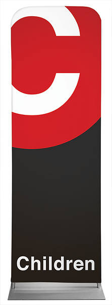 Children Metro Style Sleeve Banner