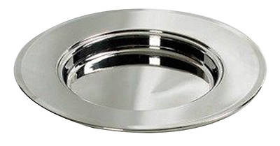 Bread Plate, Silver-Plated non-stacking