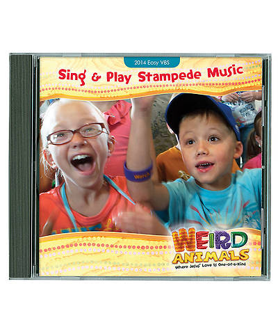 Group VBS 2014 Weird Animals Sing & Play Stampede Music CD
