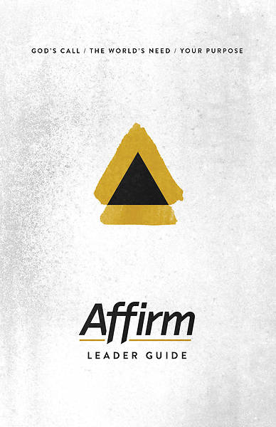 Picture of Affirm Leader Guide - Word Download