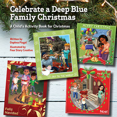 Picture of Celebrate a Deep Blue Family Christmas (Pkg of 10)
