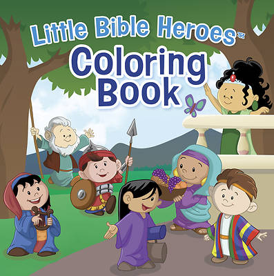 Picture of Little Bible Heroes(tm) Coloring Book