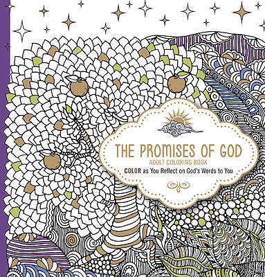 Picture of The Promises of God Adult Coloring Book