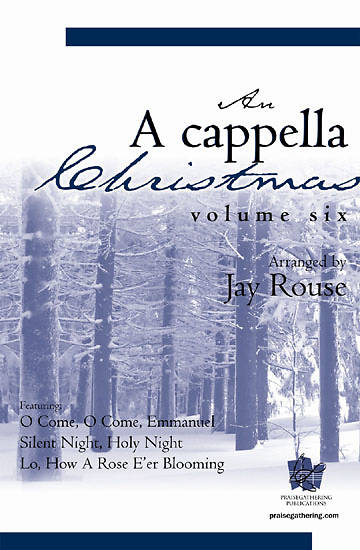 Picture of A Cappella Christmas Volume 6 Choral Booklet