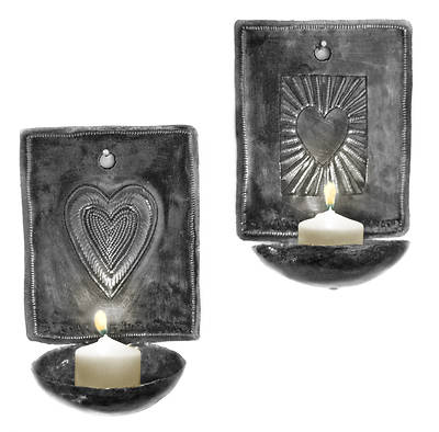 Picture of Heart Sconce Set of 2