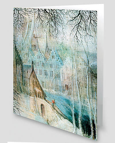 Winter Scene Greeting Cards