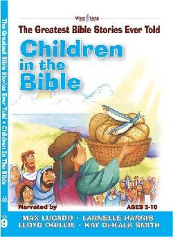 Children in the Bible with CD (Audio)