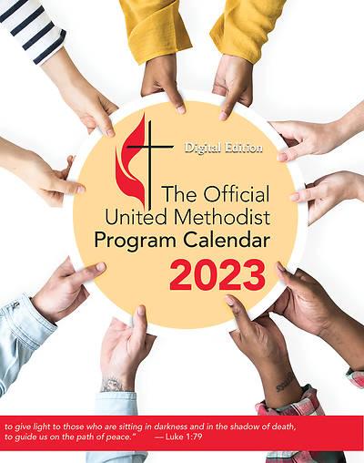 Picture of 2023 Official United Methodist Program Calendar: Digital Edition