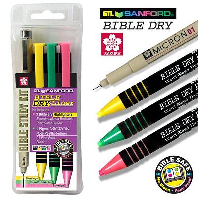 Picture of Bible Dry-Liner Study Kit