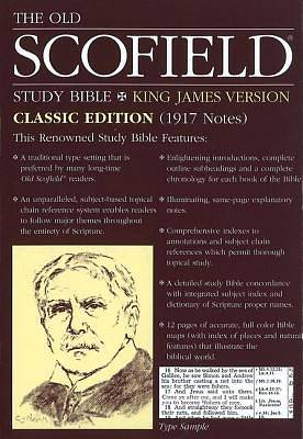 Picture of The Old Scofield Study Bible King James Version Classic Edition