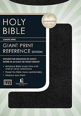 Giant Print Reference King James Version Bible