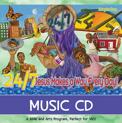 Vacation Bible School (VBS) 2018 24/7 Music CD