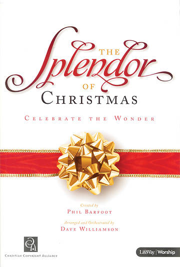 Splendor of Christmas SATB Choral Book