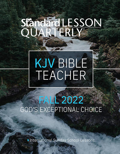 Picture of Standard Lesson Quarterly KJV Teacher Book Fall