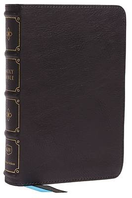 Picture of Kjv, Compact Bible, MacLaren Series, Leathersoft, Black, Comfort Print