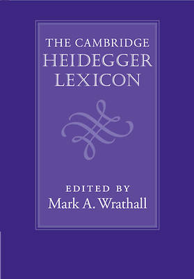 Picture of The Cambridge Heidegger Lexicon