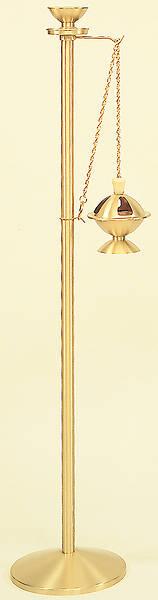Picture of Koleys K176 Satin Brass Censer Stand