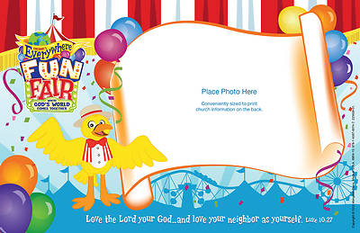 Vacation Bible School 2013 Everywhere Fun Fair Pkg of 50 Follow-Up Photo Frames (25 sheets) VBS
