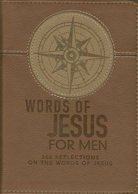 Lux-Leather Brown - Words of Jesus for Men