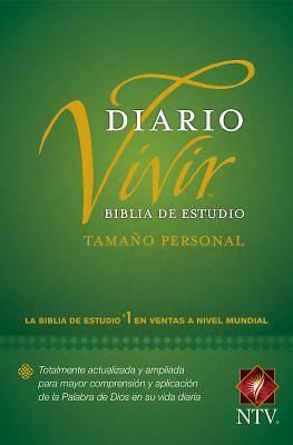 Picture of Biblia de Estudio del Diario Vivir Ntv, Tamaño Personal (Letra Roja, Tapa Rústica)