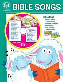 Bible Songs Workbook With Music CD