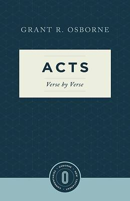 Picture of Acts Verse by Verse