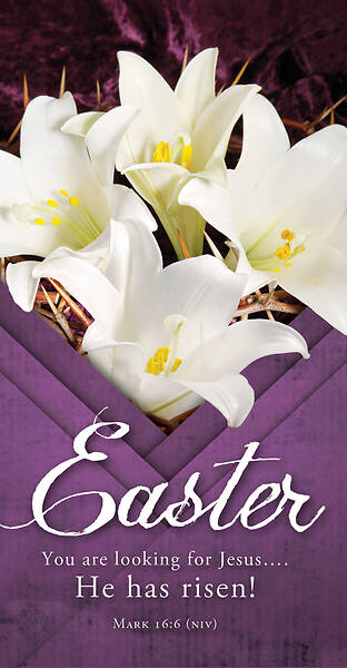 Picture of He Has Risen Easter Offering Envelope