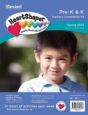 Standards Heartshaper Pre-K/K Teachers Kit Spring 2013