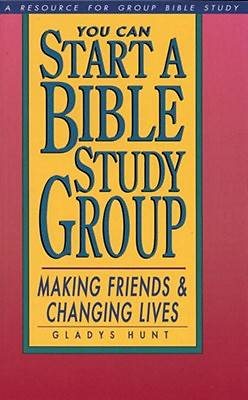 You Can Start a Bible Study