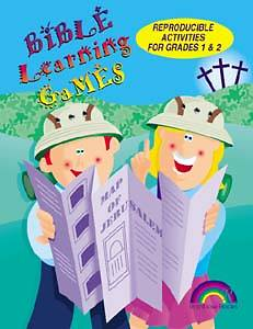 Bible Learning Games-Grades 1 & 2