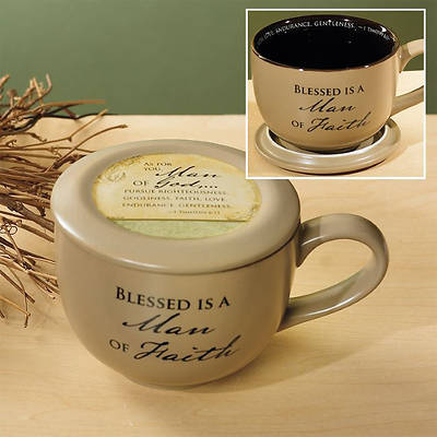 Man of Faith Soup Mug