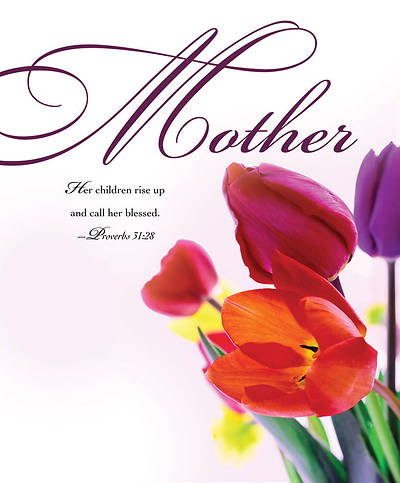 Mothers Day Tulips Bulletin 2011, Large (Package of 50)