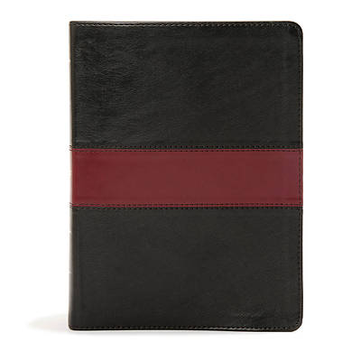 Picture of KJV Apologetics Study Bible, Black/Red Leathertouch