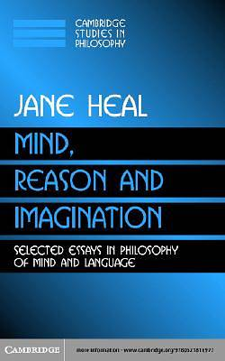Mind, Reason and Imagination [Adobe Ebook]