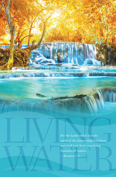 Picture of Living Waters General Regular Size Bulletin