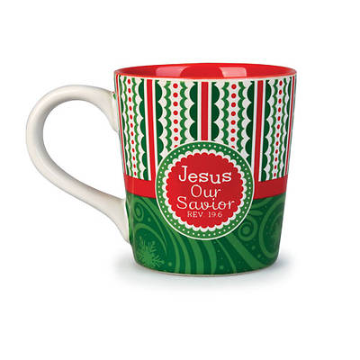 Jesus, Our Savior Ceramic Mug-Revelations 19:6