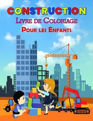 Picture of Construction Livre de Coloriage Pour les Enfants