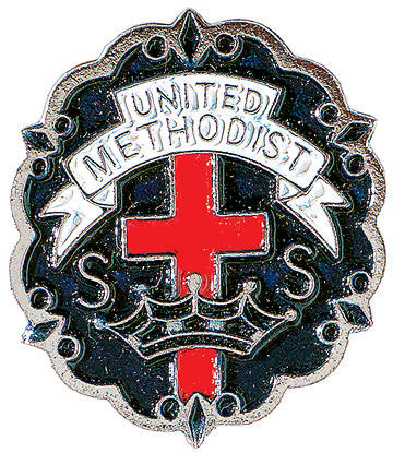 United Methodist 9 Month Sunday School Attendance Pin
