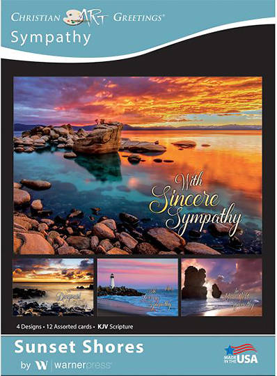 Picture of Sunset Shores Sympathy Boxed Cards