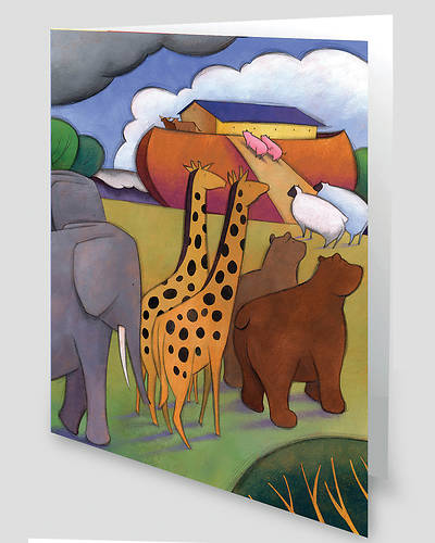 Noahs Ark Greeting Cards