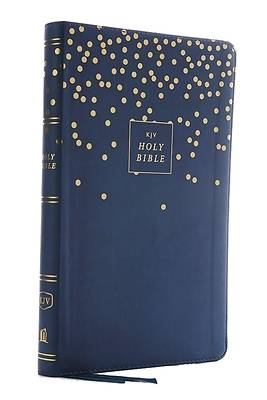 Kjv, Thinline Bible Youth Edition, Leathersoft, Blue, Red Letter Edition, Comfort Print