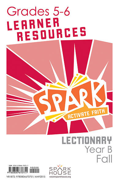 Spark Lectionary Grades 5-6 Learner Leaflet Fall Year B