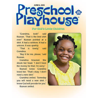 Picture of UMI Preschool Playhouse Student Summer 2021